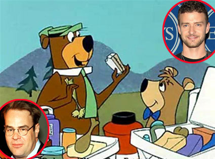 Yogi Bear, Boo-Boo, Dan Aykroyd, Justing Timberlake