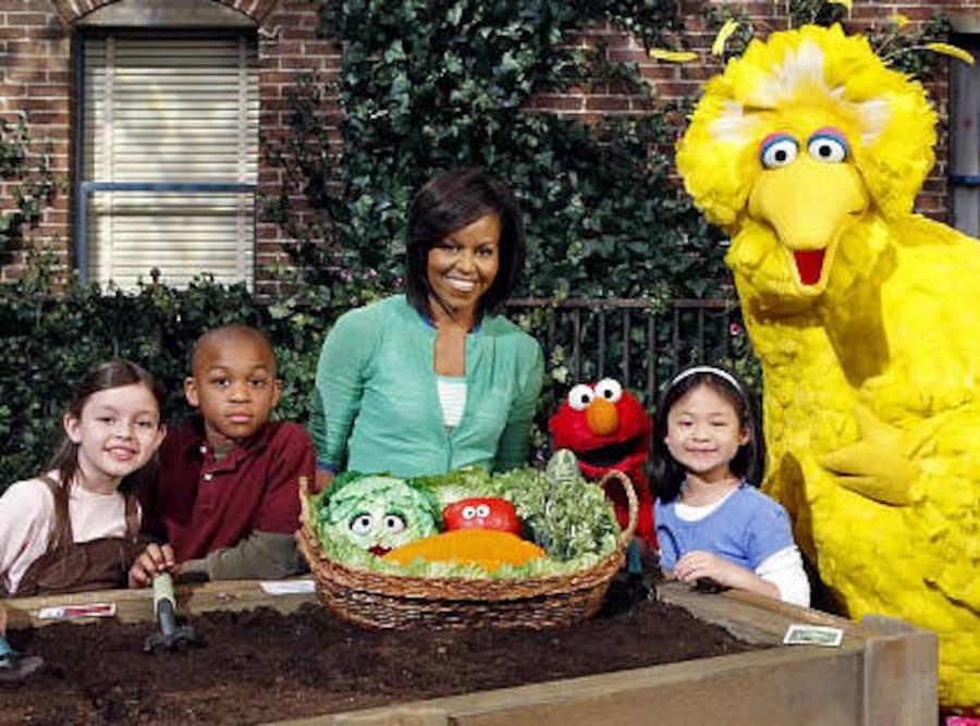 Michelle Obama, Sesame Street