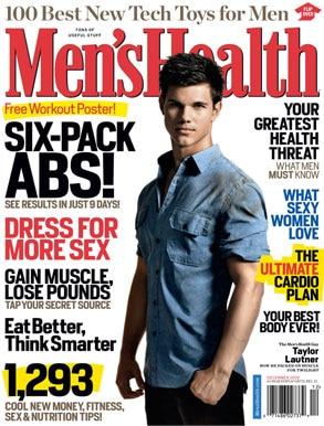 Taylor Lautner, Mens Health