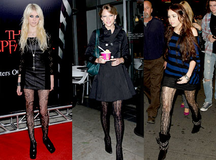 Taylor Momsen, Taylor Swift, Miley Cyrus