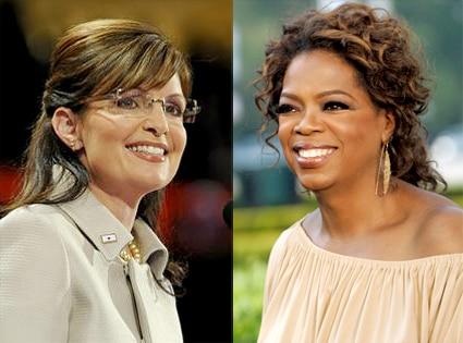 Sarah Palin, Oprah Winfrey