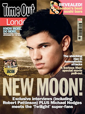 Taylor Lautner, Time Out, Cover