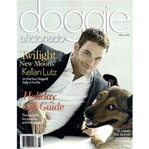 Kellan Lutz, Doggie Aficionado, Cover