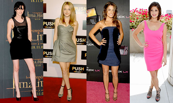 Kristen Stewart, Dakota Fanning, Nikki Reed, Ashley Greene