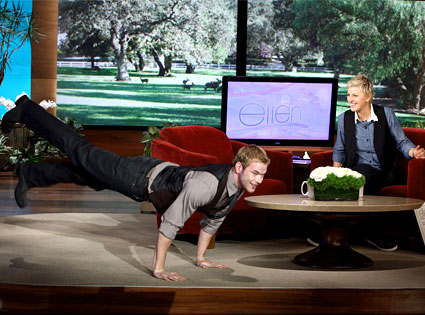Kellan Lutz, Ellen DeGeneres