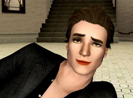 Robert Pattinson, Twilight, Sims Game