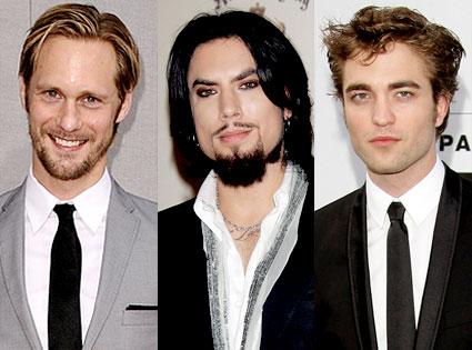 Alexander Skarsgard, Dave Navarro, Robert Pattinson