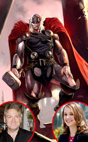Thor, Kenneth Branagh, Natalie Portman