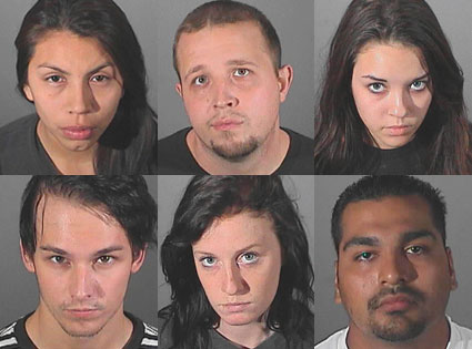 Nicholas Prugo,  Diana Tamayo, Alexis Neiers, Roy Lopez Jr., Courtney Leigh Ames, Jonathan Ajar