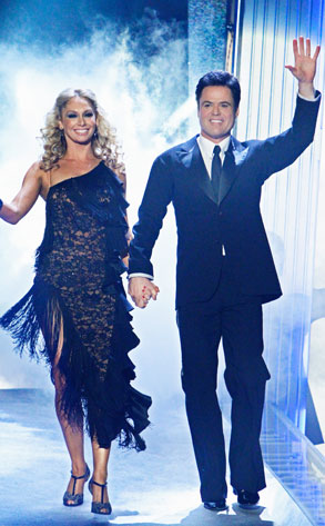 DANCING WITH THE STARS, DWTS, KYM JOHNSON, DONNY OSMOND