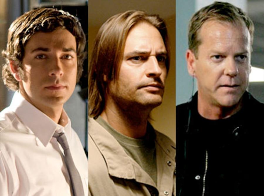 Chuck, Zachary Levi, Lost, Josh Holloway, 24, Kiefer Sutherland