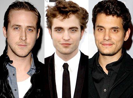 Ryan Gosling, Robert Pattinson, John Mayer
