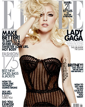 Lady Gaga, Elle, Cover