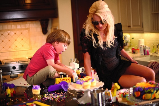 Britney Spears, Sean Preston, Elle Magazine