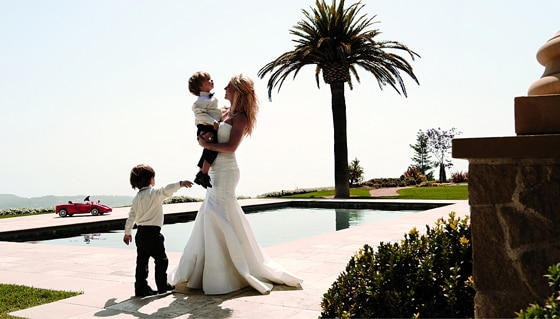 Britney Spears, Jayden James, Sean Preston, Elle Magazine