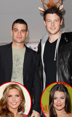 Cory Monteith, Mark Salling, Audrina Patridge, Lea Michele