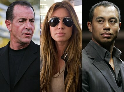 Michael Lohan, Rachel Uchitel, Tiger Woods