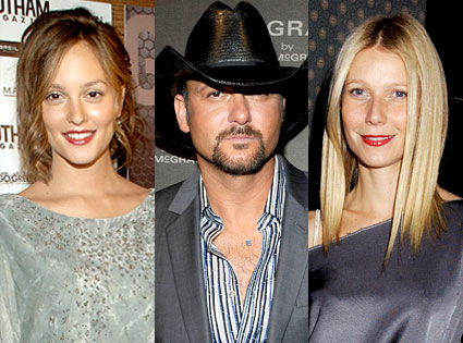 Leighton Meester, Tim McGraw, Gwyneth Paltrow