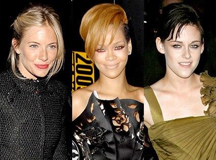 Sienna Miller, Rihanna, Kristen Stewart