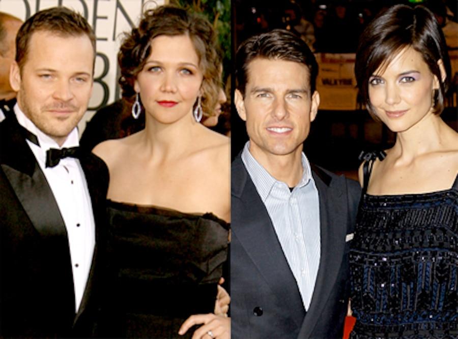 Maggie Gyllenhaal, Peter Skarsgard, Tom Cruise, Katie Holmes