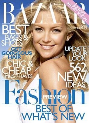 Kate Hudson, Harper's Bazaar