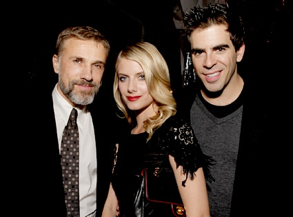 Christoph Waltz, Melanie Laurent, Eli Roth