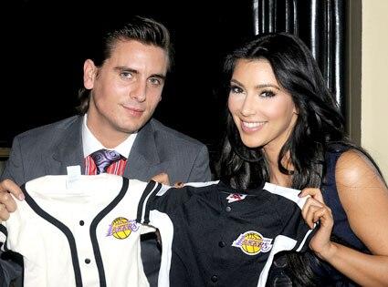 Scott Disick, Kim Kardashian