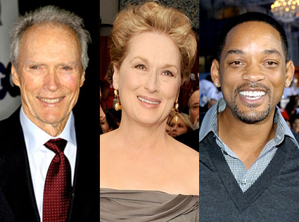 Clint Eastwood, Meryl Streep, Will Smith