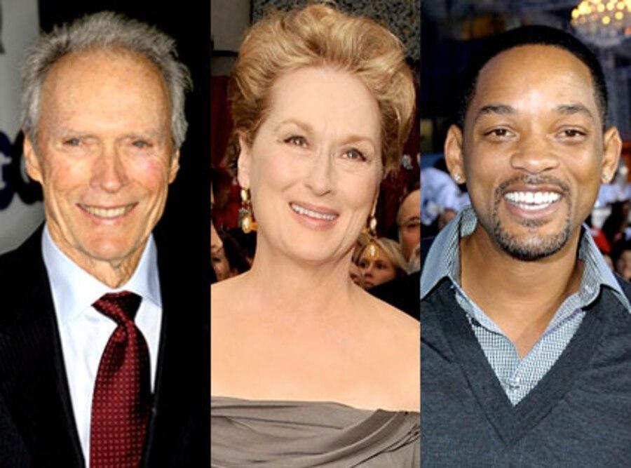 Clint Eastwood, Meryl Streep, Will Smith