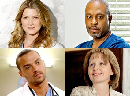 Grey's Anatomy, Ellen Pompeo, James Pickens Jr., Jesse Williams, Kate Burton