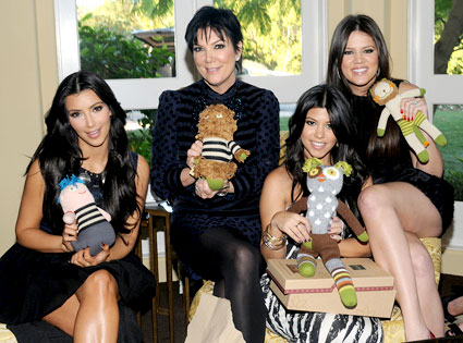 Great Une Photo Pour Lu0027album De Famille From La Baby Shower De Kourtney Kardashian  | E! News