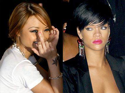 Tila Tequila, Rihanna