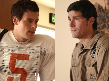 Cory Monteith, Glee, Matthew Fox, Lost