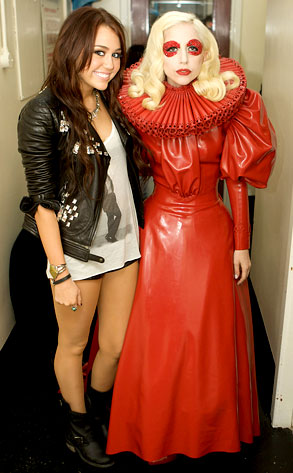 Miley Cyrus, Lady Gaga