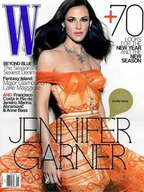 Jennifer Garner, W Magazine