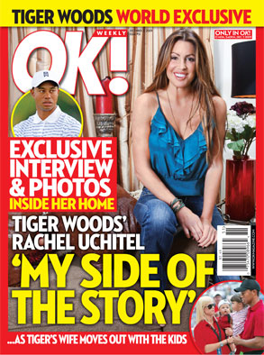 Tiger Woods, OK Cover