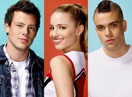 Glee, Corey Monteith, Dianna Argon, Mark Salling