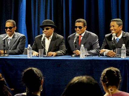 Marlon Jackson, Tito Jackson, Jackie Jackson, Jermaine Jackson