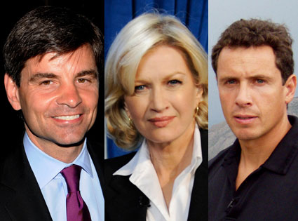 George Stephanopoulos, Diane Sawyer , Chris Cuomo