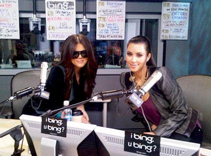 Khloe Kardashian Odom, Kim Kardashian