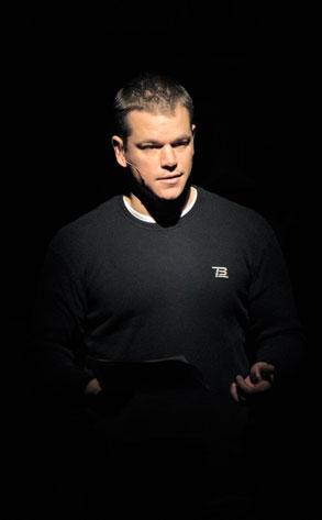 Matt Damon, The People Speak
