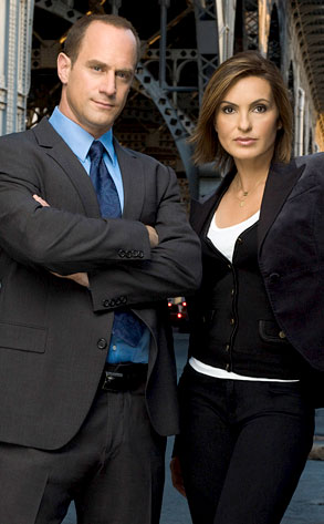 Law and Order SVU, Mariska Hargitay, Chris Meloni