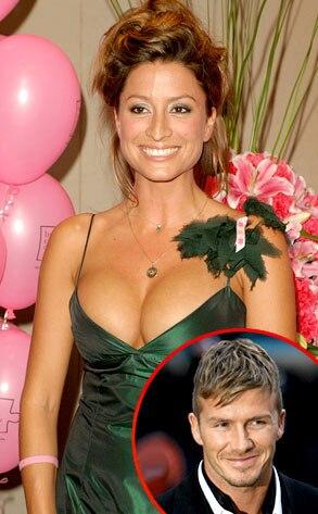 Rebecca Loos, David Beckham