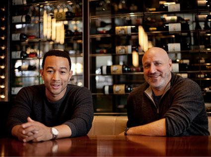 Tom Colicchio, John Legend