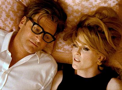 A Single Man, Colin Firth, Julianne Moore