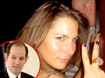 Ashley Dupre, Eliot Spitzer