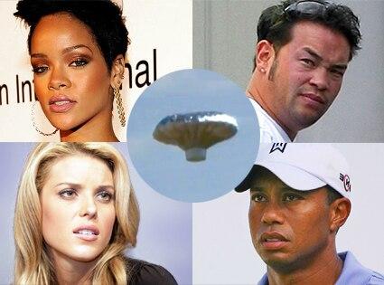 Rihanna, Jon Gosselin, Carrie Prejean, Tiger Woods, Heene Ballon Boy