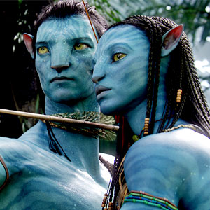Zoe Saldana, Sam Worthington, Avatar
