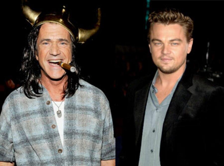 Mel Gibson, Leonardo DiCaprio