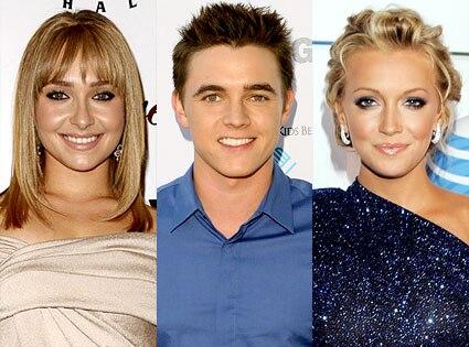Hayden Panettiere, Jesse McCartney, Katie Cassidy